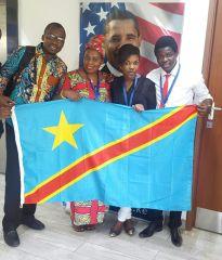 Congolese member of YALI COHOTY 11