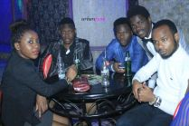 Congolese student @Adeck party
